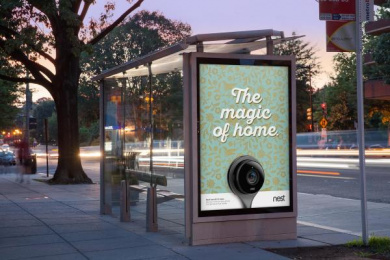 Nest: The Magic of Home, 4 Outdoor Advert by BBH New York