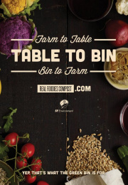 San Francisco Department of the Environment: Farm/Table/Bin/Farm Outdoor Advert by Kaboom Productions, School of Thought