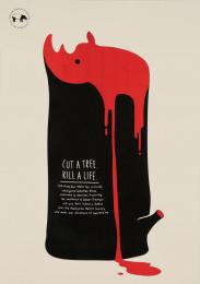 Malaysian Nature Society: Rhino [english] Print Ad by Y&R Kuala Lumpur