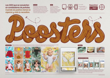 Bepanthen: Poosters [spanish image] Outdoor Advert by J. Walter Thompson Sao Paulo, Landia
