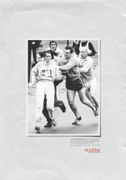 Maxim: MARATHONER Print Ad by Ogilvy & Mather Mexico