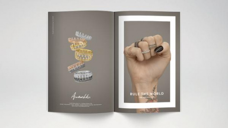 Annoushka: Rule the World, 2 Print Ad by Mr. President London
