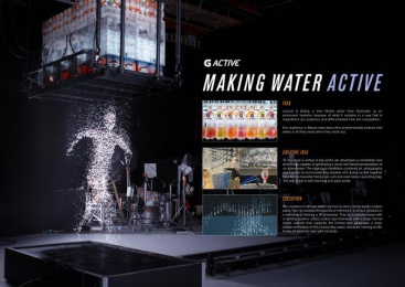 Gatorade: G Active Ambient Advert by TBWA\Chiat\Day Los Angeles