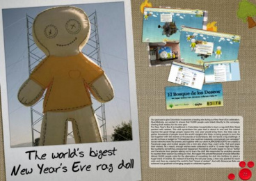 ALMACENES ÉXITO STORES: The World's Biggest New Year's Eve Rag Doll Viral Ad by Proximity Bogota