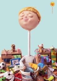 Chupa Chups: Tidy-up Print Ad by Cheil Hong Kong