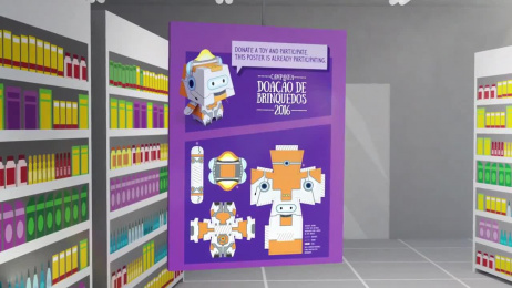 +SP Sao Paolo Drugstore: Campanha Paper Toys Film by Talent Marcel