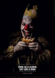 Burger King: Scary Clown Night, 3 Print Ad by Lola Madrid