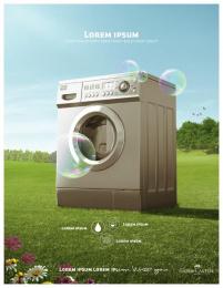Faber-Castell: Washing Machine Print Ad by Inbrax Santiago
