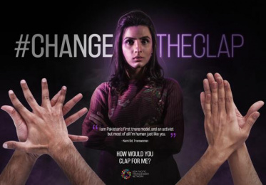 Asia Pacific Transgender Network: Change The Clap, 2 Print Ad by Impact BBDO Lahore
