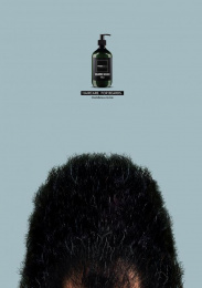 Mandevu Beard Care: Wild Print Ad by Y&R Kenya