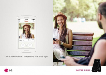 LG: Flip Phone, 2 Print Ad by Miami Ad School New York