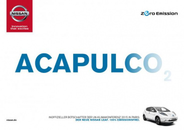 Nissan: Acapulco Print Ad by Jung von Matt/365 GmbH Hamburg Germany, TBWA\ Dusseldorf