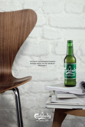 Carlsberg: A Danish Classic Reborn Print Ad by Animal Sweden