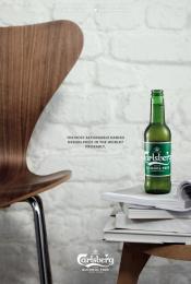 Carlsberg: A Danish Classic Reborn Print Ad by Animal Sweden