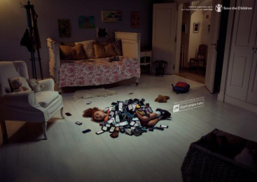Save The Children: Girl Room Print Ad by El Taier/Tribu DDB Guatemala