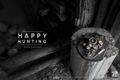 Bucks And Spurs: Happy Hunting, 1 Print Ad by Blooms Agency Stockholm