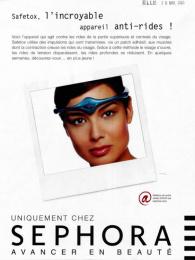 Sephora: Safetox Print Ad by Quelle Belle Journee