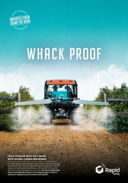 Rapid Spray: Whack Proof Print Ad by Redhanded