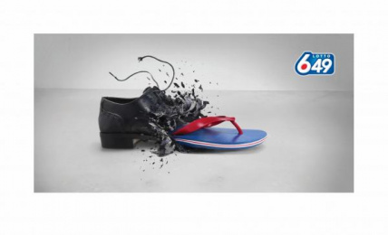 Lotto 649: SHOE Print Ad by DDB Vancouver