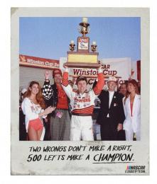 Nascar: Champion Print Ad by Miami Ad School San Francisco