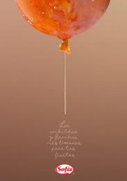 Sofía: Balloons, 3 Print Ad by Sushi Agencia Creativa Salta Argentina