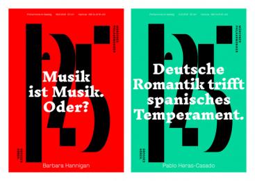Munich Philharmonic: The logo behind the logo, 1 Print Ad by Kolle Rebbe Hamburg