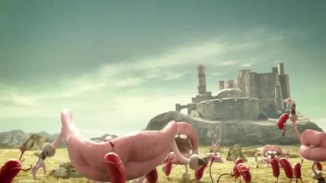 Salamitos: Medieval Battle Film by F/Nazca Saatchi & Saatchi Sao Paulo, Vetor Zero/Lobo