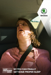 Skoda: Sweet Dreams, 1 Print Ad by 5roadz, Rosapark Paris