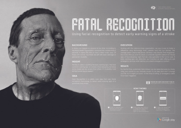 The Hong Kong Stroke Association: Fatal Recognition - Case Image Print Ad by Cheil Hong Kong