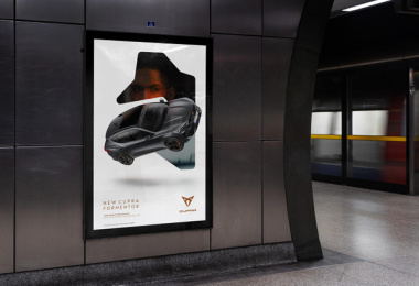 Cupra: Another Way, 2 Outdoor Advert by Droga5 London