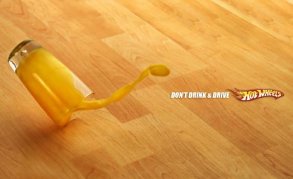 Hot Wheels: Juice Print Ad by Maksim Fulltime