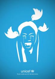 UNICEF (United Nations International Children's Emergency Fund): Twitter Can Kill Print Ad by Miami Ad School Hamburg