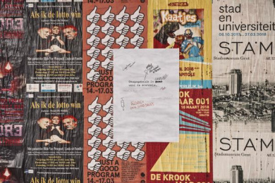 UNIVERSITY OF GHENT: Dare To Think, 2 Ambient Advert by Mortierbrigade Brussels