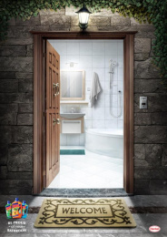 Henkel General: Bathroom Print Ad by TBWA\ Egypt