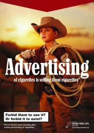 Smoke Free Life: Forbidden Print Ad by SHOOT!, The Smarts Sofia