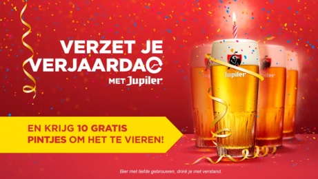 Jupiler: Postpone your Birthday, 1 Print Ad by BBDO Brussels