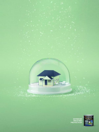 Taubmans: New South Wales Snowglobe Print Ad by Limehouse creative, Naked Communications