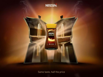 Nescafe: Same Taste, 3 Print Ad by Team collaboration