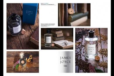 James Joyce Gin: James Joyce Gin, 4 Design & Branding by Shane O'Riordan Design Ireland
