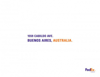 Fedex: Argentina Print Ad by Brother Ad School Santo Domingo