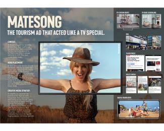 Tourism Australia: Matesong, 4 Print Ad by M&C Saatchi Sydney, Revolver/Will Orourke