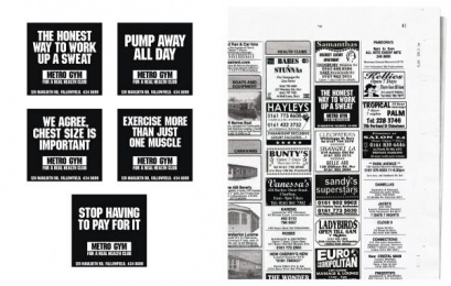 Metro Gym: Metro Gym Print Ad by BJL Manchester