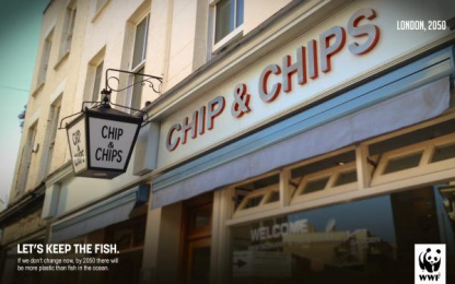 WWF: Chip & Chips Print Ad by PUCPR Curitiba