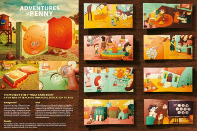 Itau Bank: The Adventures of Penny Direct marketing by DM9DDB Sao Paulo