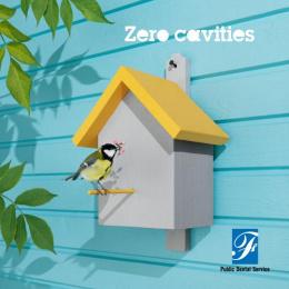 Folktandvarden: Birdhouse Print Ad by Garbergs Annonsbyra, IAM Production
