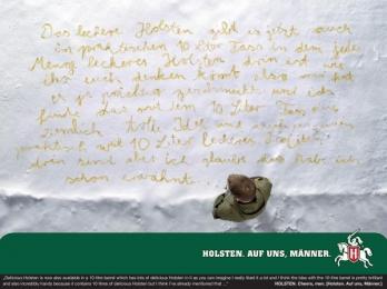 Holsten: CHEERS MEN! Outdoor Advert by Scholz & Friends Berlin
