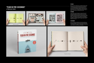 Quercus: FILM IN FIVE SECONDS, 2 Design & Branding by H-57