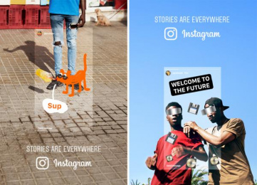 Instagram: Stories Are Everywhere [image] 8 Print Ad by Wieden + Kennedy Amsterdam
