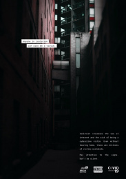 Apav (portuguese Association For Victim Support): Victims of Isolation, 3 Print Ad by Youngnetwork