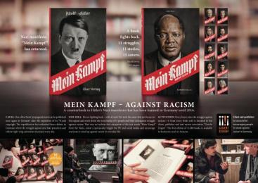 Gesicht Zeigen!: Mein Kampf – Against Racism, 8 Print Ad by Ogilvy & Mather Berlin